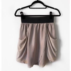 Dresses & Skirts - ARIZIA WILFRED Silk Skirt - Mauve